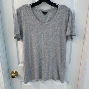 theory gray t shirt size L